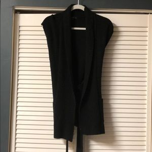 Gap sleeveless sweater duster